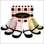 Trumpette *Mary Janes* Pastel Baby Socks