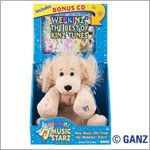 Ganz Webkinz Music Starz Webkinz/CD Combo - Golden Retriever