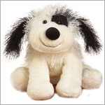 II: Ganz Webkinz Black & White Cheeky Dog