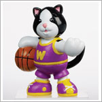 II: Ganz Webkinz Black/White Cat Figure