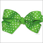 II: Wee Ones Small Mini-Dot Bow *MANY COLORS*