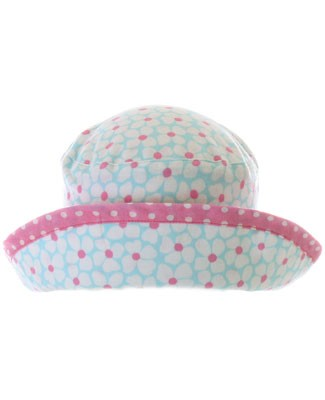 Baby Lulu Laci Floral Knit Roll Hat