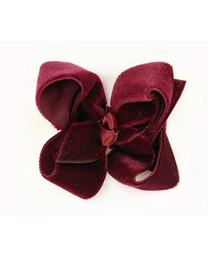 Blooming Bows Mini Velvet Clippie