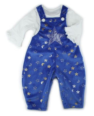 II: Chicken Noodle Twinkle Overall and Tee Set