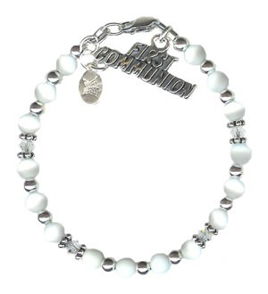 Chloe Emma First Communion Bracelet