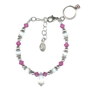 Chloe Emma March Birthstone Princess Bracelet
