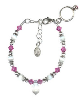 Chloe Emma August Birthstone Princess Bracelet
