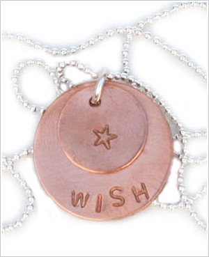 ~ Circle Of Sentiments Whimsical *Wish* Necklace