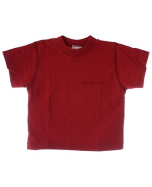 12m Deux Par Deux Red S/S Shirt