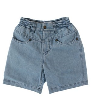 2T Deux Par Deux Blue Denim Shorts