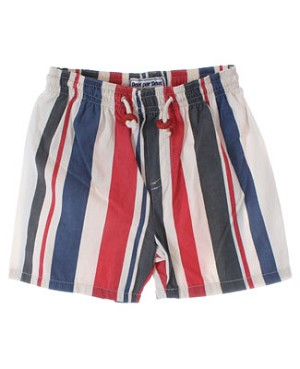 12m Deux Par Deux Multi Striped Swim Trunks