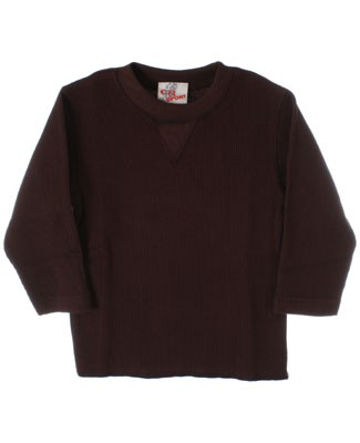GT Brown L/S Waffle Tee