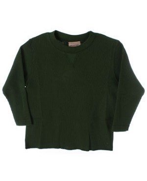 GT Olive L/S Waffle Tee