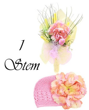Z: Somebunny Special Hair Accessory Bouquet *1 to 7 Stems*