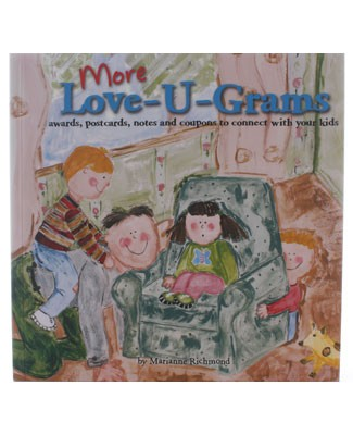 More Love-U-Grams Book Of Postcards And More