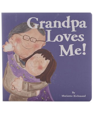 Grandpa Loves Me Board Book