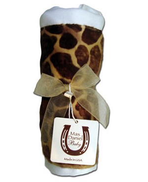 Z: Max Daniel *BUTTER GIRAFFE* Burp Cloth