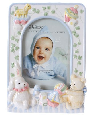 R: C.R.Gibson Baby Photo Frame