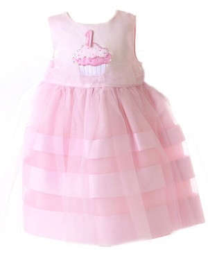II: Rare Editions Pink Sleeveless Birthday Dress