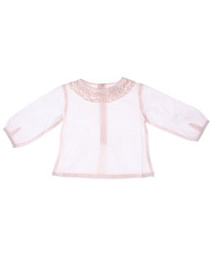 Room Seven Light Peach L/S Blouse