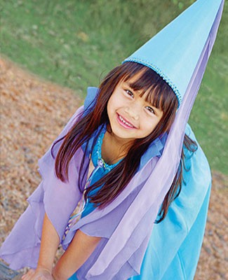 Sarah's Silks Turquiose/Lavender/Blue Princess Dress