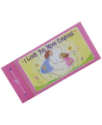 I Love You Mom Coupons Book