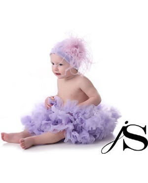 Ally Girl Infant Dropwaist Pettiskirt *LAVENDER*
