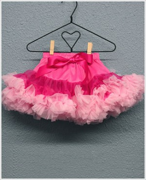 Ally Girl Infant Dropwaist Pettiskirt *RASPBERRY/PINK*