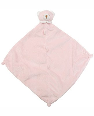 Angel Dear Pink Bear Blanket