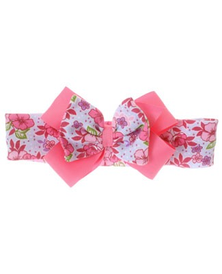 II: Country Flower Small Floral Knit Bowband
