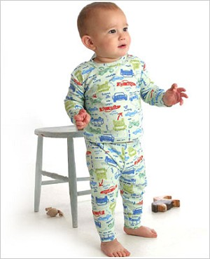Baby Lulu *Pepper Toes* Autoland 2pc Jammies