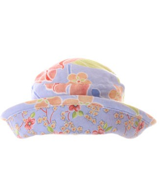 II: Baby Lulu Lotus Batik Knit Roll Hat