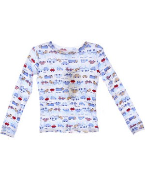 II: Pepper Toes *City Life* L/S Jammie Top