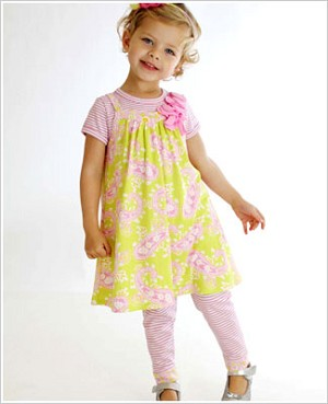 Z: Baby Lulu THORA Jeana Dress