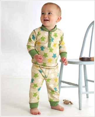 Baby Lulu Pepper Toes TURTLE Print Pants