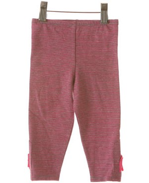 Baby Lulu Adina Stripe Button Leggings