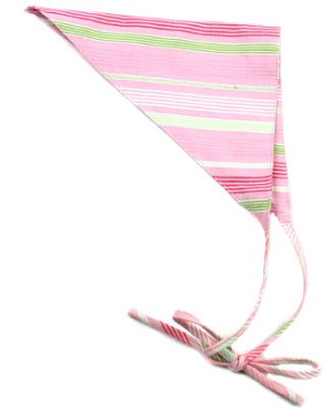II: Baby Lulu Cosmo Pink Striped Head Scarf