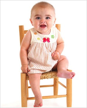 Z: Baby Lulu ESTELLE Skirted Bodysuit