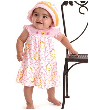 Z: Baby Lulu SUNSHINE Gabby Dress