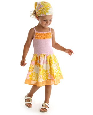 Z: Baby Lulu SUNSHINE Marina Dress