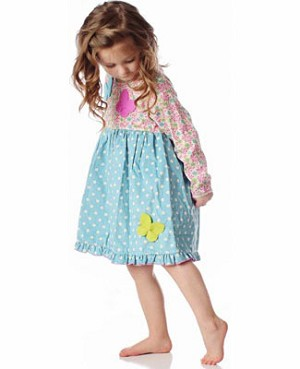 Z: Baby Lulu IRIS & DOT Georgia Dress
