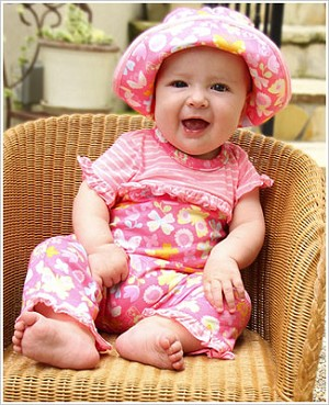 Z: Baby Lulu SWEET TREATS Romper