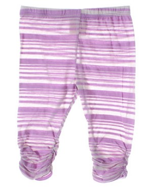 Baby Nay *Big Citizen* Lavender Striped Leggings