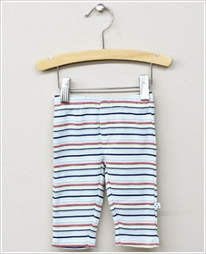 Baby Nay *Da Lil Guys* Vintage Bicycle Navy/Multi Striped Pants