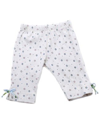 3T II: Baby Nay Lemon Lime *Lima Dots* 3/4 Legging
