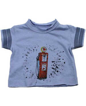 II: Baby Nay *Da Lil Guyz*  Gas Pump s/s Crew Neck w/ Striped Sleeves