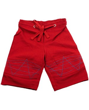 II: Baby Nay *Da Lil Guyz*  Red Jersey Long Shorts
