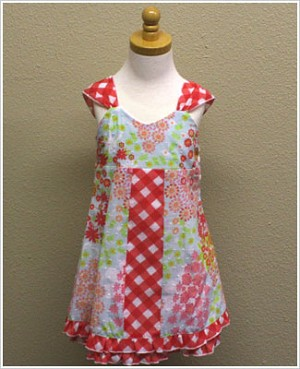 Baby Nay *Yumi Flowers* Sleeveless Sofia Dress