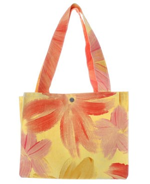 ~II: Balu Yellow Multi Flower Bag