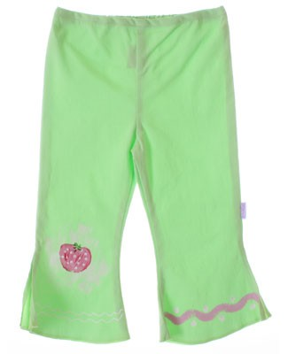 ~6y II: Balu *Strawberry Fields* Lime Woven Pants